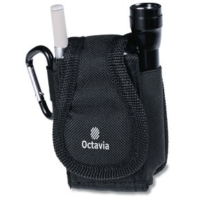 Utility Pouch with Flashlight