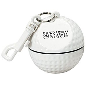 Sport Ball with Rain Poncho - Golf Ball Main Image