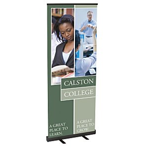 "Economy Retractor Banner Display - 31-1/2"" Main Image"