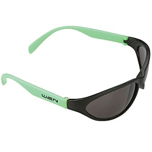 Wave Rubberized Sunglasses Main Image