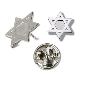Lapel Pins - Star of David - Unimprinted Main Image