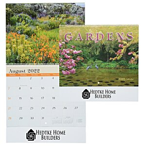 Beautiful Gardens Calendar - Spiral Main Image