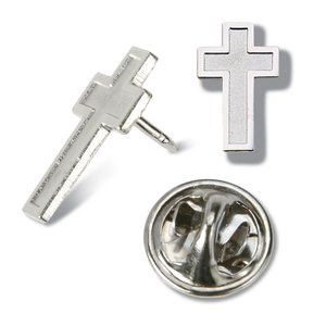 Lapel Pins - Cross - Unimprinted Main Image