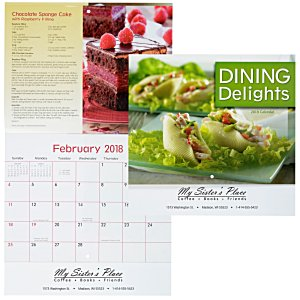Dining Delights Calendar - Stapled Main Image