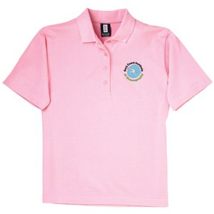 60/40 Blend Pique Sport Shirt - Ladies' Main Image