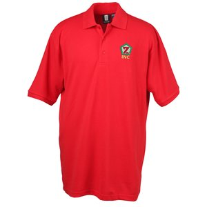 60/40 Blend  Pique Sport Shirt - Men's