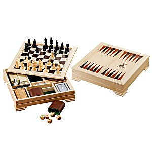 7-in-1 Traditional Game Set Main Image
