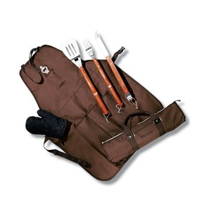 6-Piece BBQ Apron Set Main Image