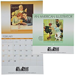 An American Illustrator Calendar - Stapled - 24 hr Main Image