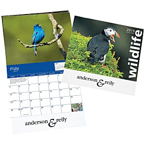 4imprint Exclusive 2018 Wildlife Calendar Main Image