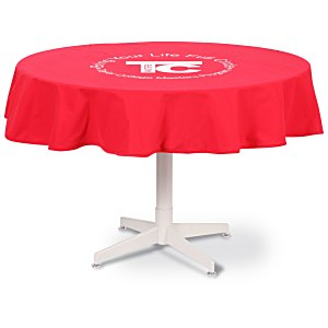 Poly/Cotton Table Throw - Round Main Image