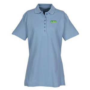 100% Combed Cotton Pique Sport Shirt - Ladies' Main Image