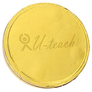 Chocolate Coin - .25 oz.