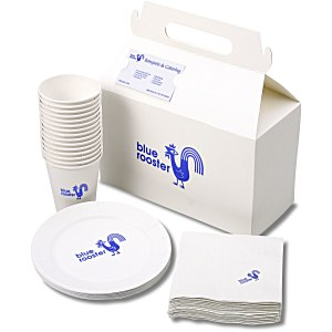 Snack Pack - Paper Plate/Cup and Napkin Set Main Image