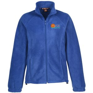 Harriton Full-Zip Fleece - Ladies' Main Image