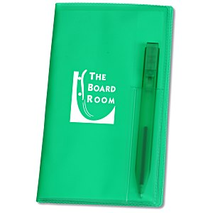 Weekly Pocket Planner with Pen - Translucent