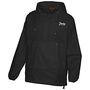 Harriton Packable Nylon Jacket - Screen Main Image
