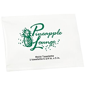 Moist Towelette Packet Main Image