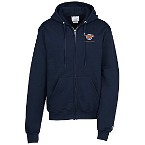 Champion Full-Zip Hoodie – Embroidered Main Image