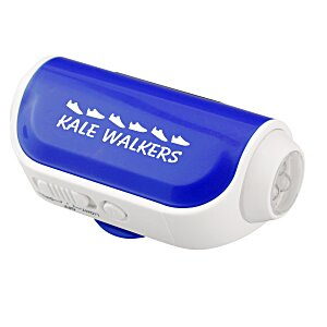 Pedometer w/Flashlight and Siren