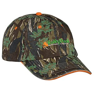 Camouflage Cap - Embroidered Main Image