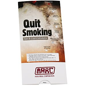 Quit Smoking Tips & Cost Calculator Pocket Slider Main Image