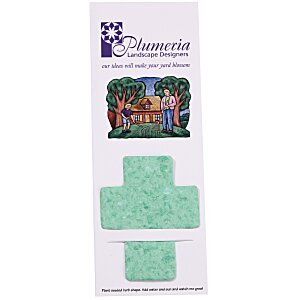 Plant-A-Shape Herb Garden Bookmark - Cross Main Image