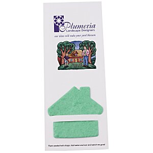 Plant-A-Shape Herb Garden Bookmark - House Main Image