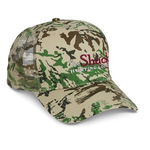 Mesh Back Camouflage Cap - Embroidered