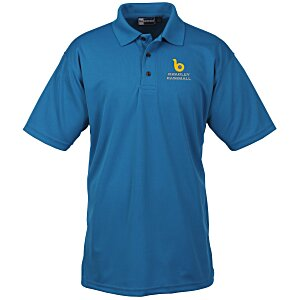 Moisture Management Polo with Stain Release – Men's Main Image