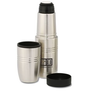 Vacuum Bottle with Travel Tumbler - 18 oz. Main Image