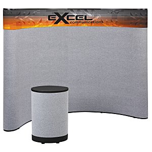 Deluxe Curved Floor Display - 10' - Header Main Image