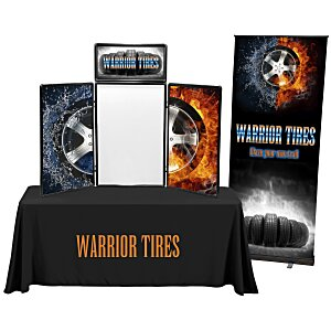 Show N Write Tabletop Display - 6' - Full Color - Kit Main Image