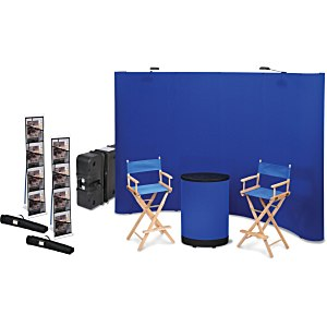 Standard Curved Floor Display - 10' – Blank - Kit Main Image