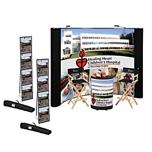 Standard Curved Floor Display - 10' - Mural Center - Kit Main Image