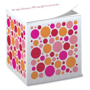 Post-it® Notes Cubes - 575 Sheets - Exclusive - Dot Main Image