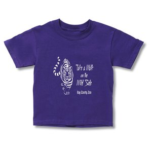 Gildan 6.1 oz. Ultra Cotton T-Shirt - Toddler - Colors Main Image