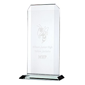 "Aspire Starfire Glass Award - 11"" Main Image"