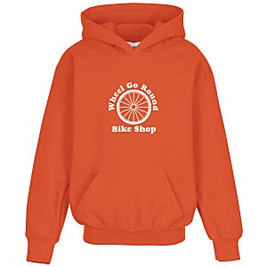 Gildan 50/50 Hooded Sweatshirt - Youth - Screen Main Image
