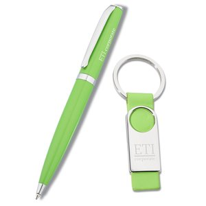 Rainbow Sherbert Pen / Key Tag Gift Set Main Image