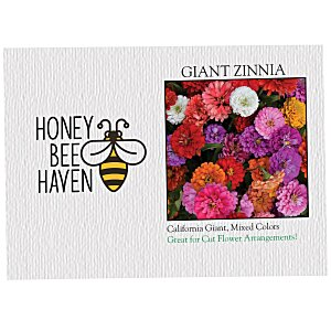 Impression Series Seed Packet - Giant Zinnia Main Image