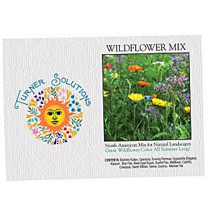 Impression Series Seed Packet - Wildflower Mix Main Image