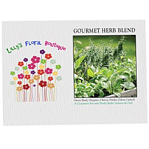 Impression Series Seed Packet - Gourmet Herb Blend Main Image