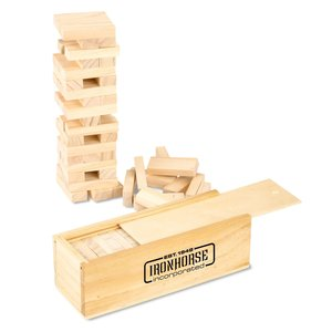 Tumbling Tower Wood Block Game Main Image