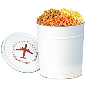 3-Way Popcorn Tin - Solid - 3-1/2 Gallon Main Image