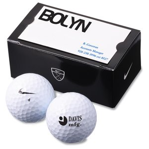 Nike Power Soft 2-Golf Ball Business Card Box Main Image