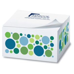Post-it® Notes Cubes - 285 Sheets - Exclusive - Dots Main Image