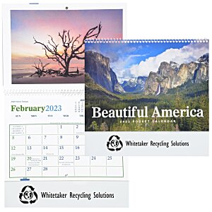 Beautiful America Calendar - Pocket Main Image