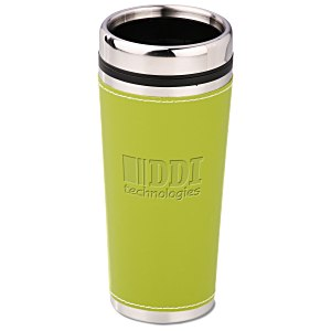Leatherette Tumbler - 16 oz. - Debossed Main Image