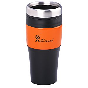 Promotional Metallic Panel Tumbler - 16 oz. Main Image